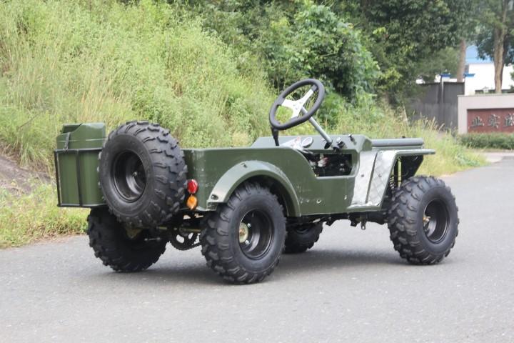 Herlig Mini Jeep Willys Go Kart | GOKART CO VC-65