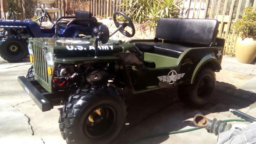 Mini Jeep Willys Go Kart | GOKART CO